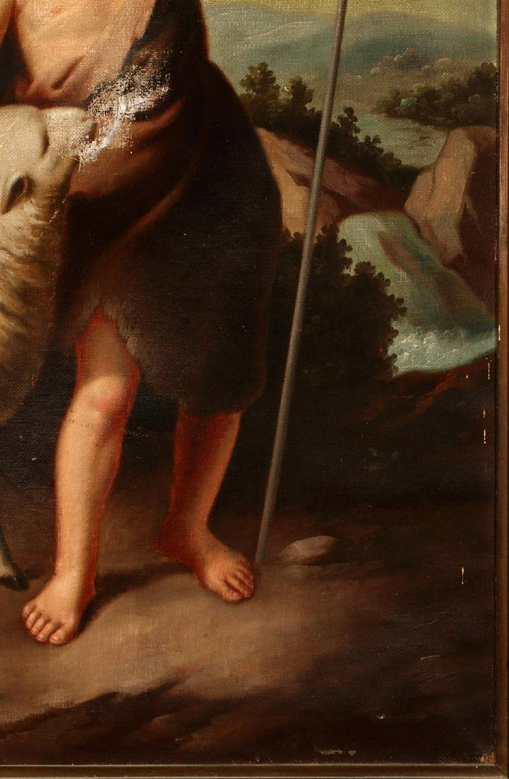 ST. JOHN THE BAPTIST AS A CHILD AFTER MURILLO O/C - 5
