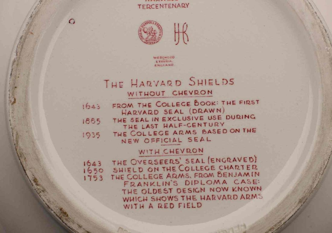THE VAN DYKE FAMILY WEDGWOOD HARVARD PUNCH BOWL - 10