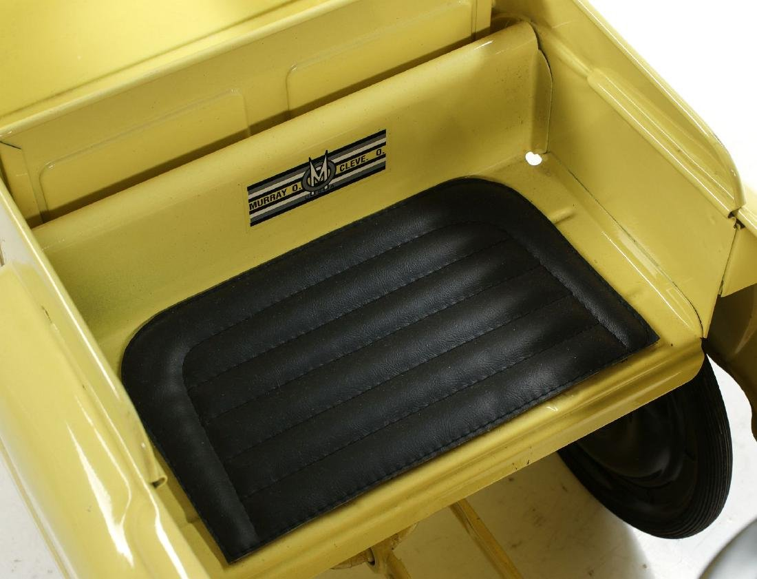 A GOOD MURRAY SAND AND GRAVEL DUMP BED PEDAL CAR - 6