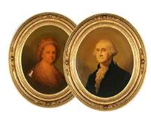 E.C. MIDDLETON & CO OLEOGRAPH WASHINGTON PORTRAITS