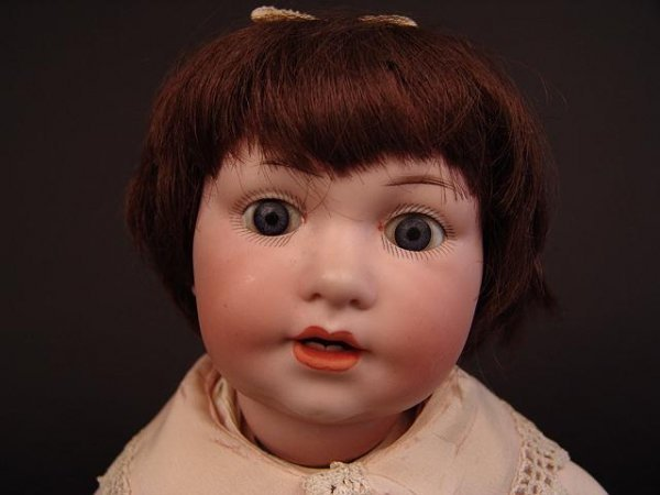 4001: ARMAND MARSEILLE BISQUE HEAD CHARACTER BABY
