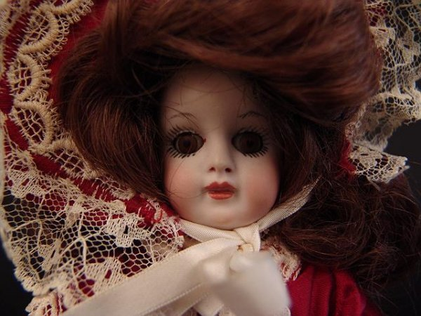 4008: ALL BISQUE DOLL