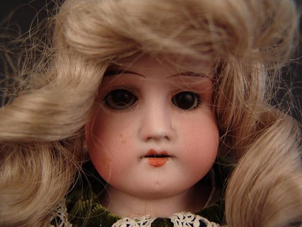 4014: ARMAND MARSEILLE 16 INCH BISQUE HEAD MABEL DOLL -