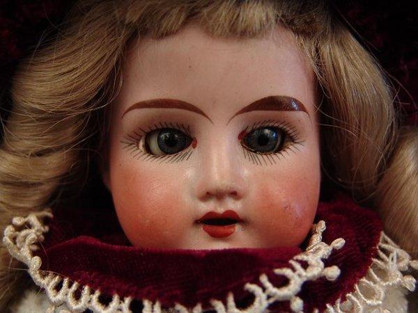 "4018: ARMAND MARSEILLE 14"" 'LILLY' ANTIQUE BISQUE HEAD"