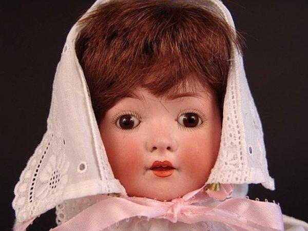 4023: HEUBACH KOPPELSDORF CHARACTER BABY ANTIQUE DOLL