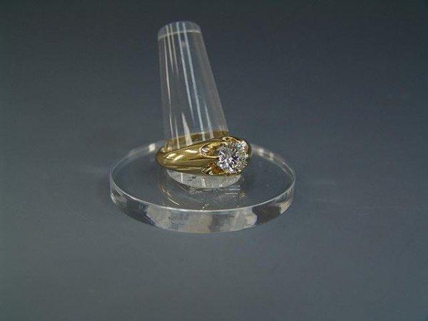 78: MAN'S 1.6 CARAT DIAMOND ESTATE RING IN 14 KARAT - 4