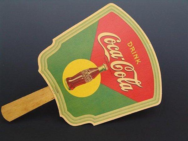 512: PADUCAH KY 1950'S COCA-COLA FAN