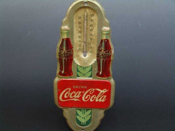 518: 1941 COCA-COLA THERMOMETER