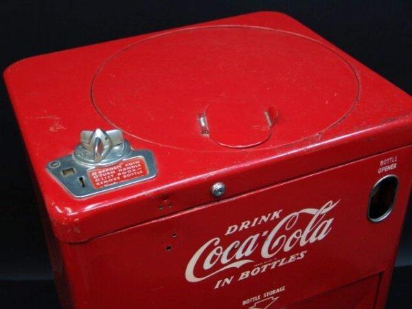632: VENDO V23 SPIN TOP COCA-COLA MACHINE - 3
