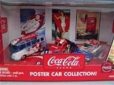 678: COCA-COLA POSTER CAR COLLECTION