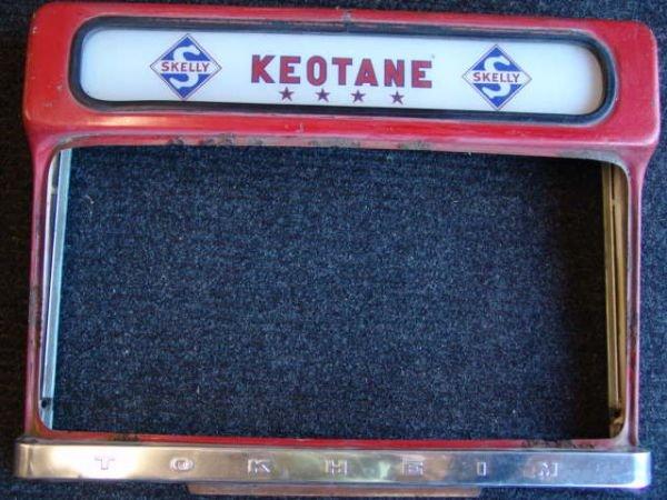516A: SKELLY KEOTANE VINTAGE GAS PUMP COVER