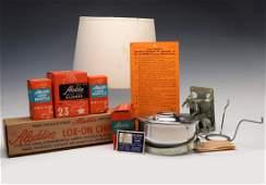 ALADDIN RR CABOOSE KEROSENE MANTLE LAMP WITH BOXES