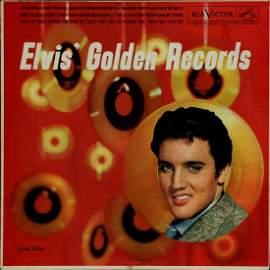 ELVIS PRESLEY (1935-1977) SIGNED RECORD ALBUM