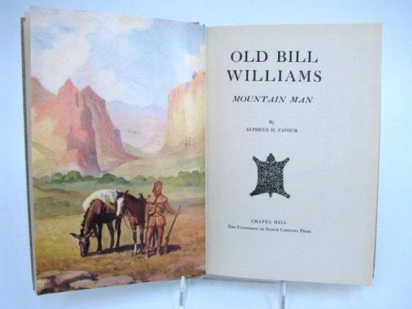 502: Old Bill Williams.  Mountain Man.
