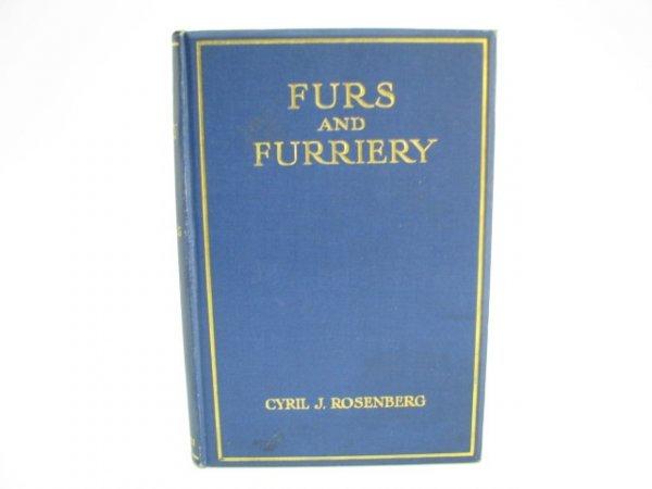 509: Rare Book: Furs & Furriery.