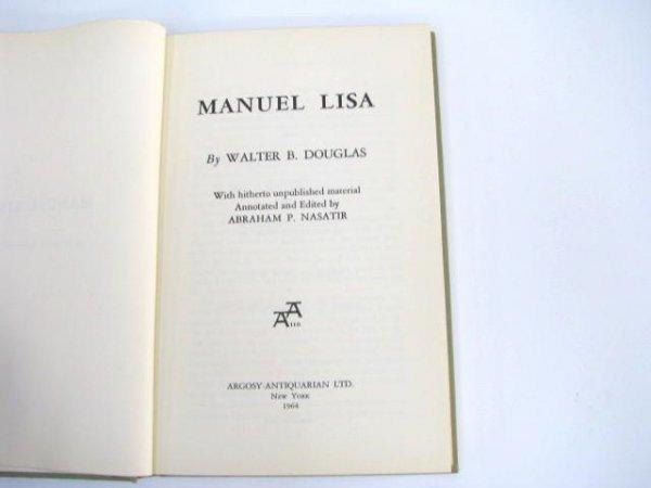 510: Limited Edition Book: Manuel Lisa.  (Fur Trade)