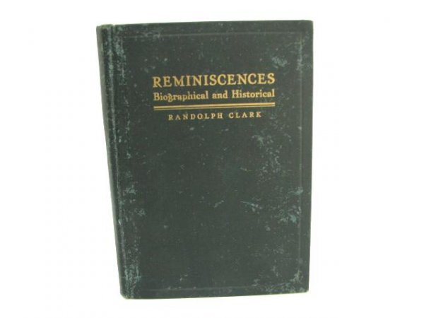 518: Reminiscences.  Biographical and Historical.