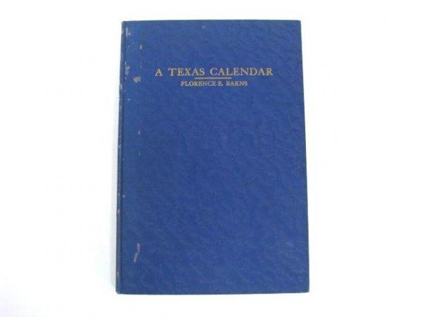 522: 1935 Book: A Texas Calendar.