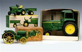 JOHN DEERE VINTAGE FARM TOYS IN THEIR ORIGINAL BOX