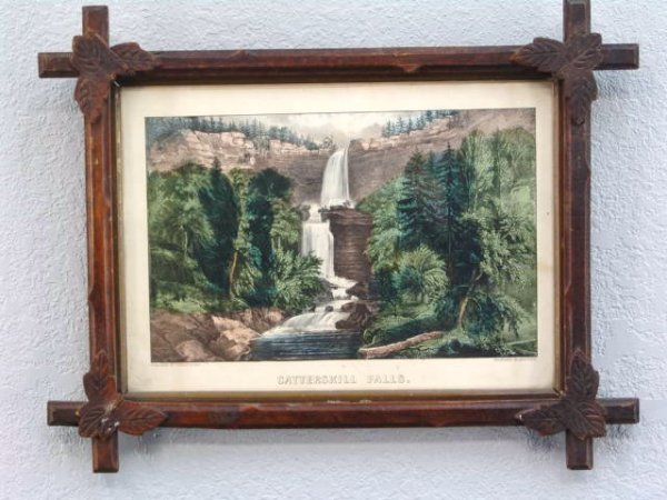 2: ORIG. CURRIER & IVES - CATTERSKILL FALLS