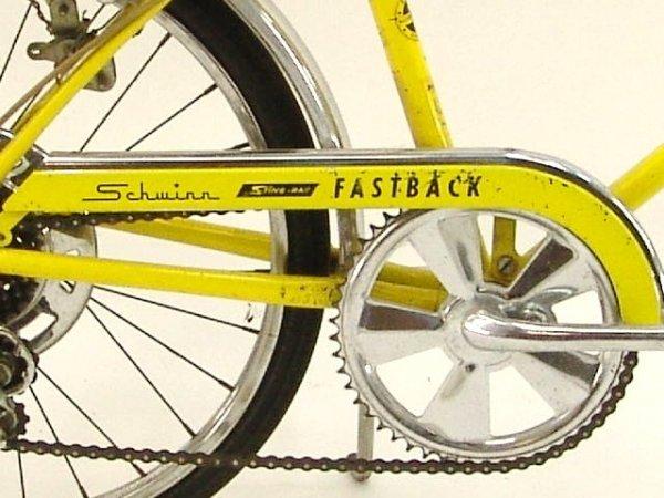 200: SCHWINN STINGRAY FASTBACK 5 SPEED BICYCLE - 2