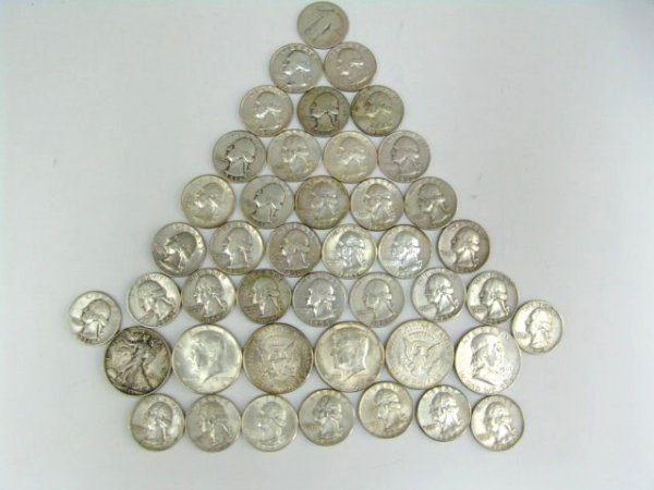 390: $11.50 IN COINS (SILVER)