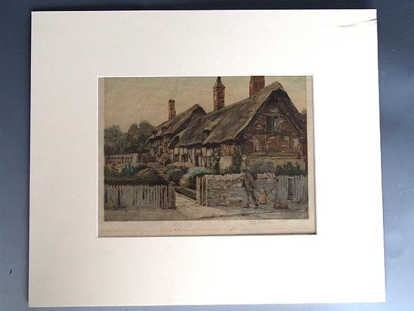 123: PENCIL SIGNED COLOR ETCHING BY M.C. ROBINSON - 3