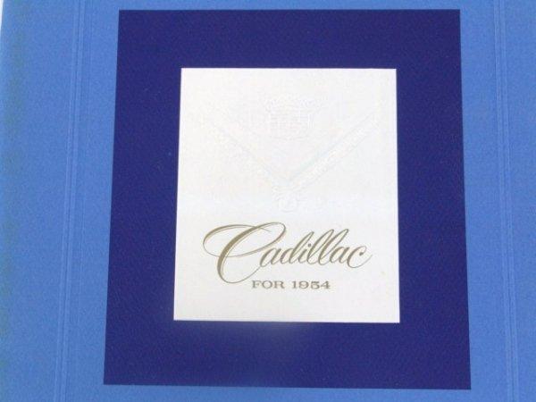 1000: 1954 CADILLAC PRESTIGE SALES CATALOG BROCHURE