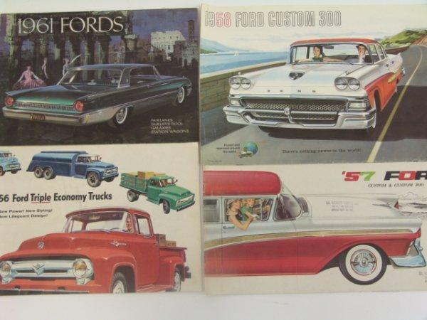 1017: 1956-1961 FORD CATALOG BROCHURES