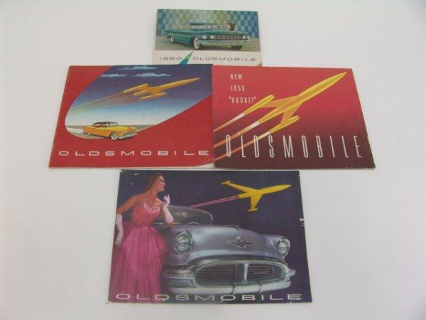1018: 1953-1960 OLDSMOBILE CATALOG BROCHURES