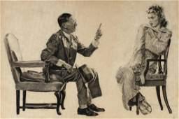RITCHIE COOPER (20TH C. AMERICAN) ORIGINAL ILLUSTRATION