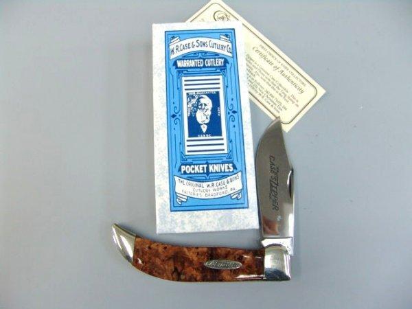 11: CASE XX CLASSIC ZIPPER 71072 LIMITED KNIFE