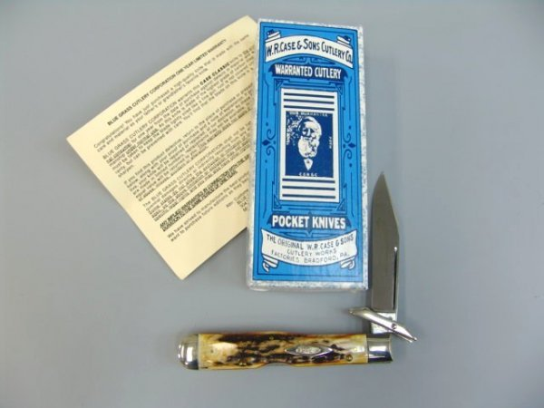 12: CASE XX CLASSIC CHEETAH 61011 1/2  KNIFE 1 of 96 MA