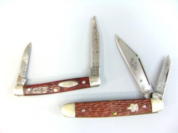 23: VINTAGE POCKET KNIVES, CASE & KEEN KUTTER