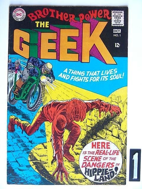 1: Estate Comic:  Brother Power the Geek  #1