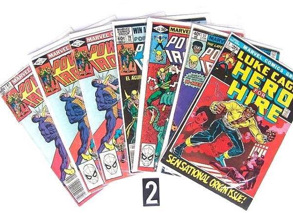 2: Estate Comic:  Luke Cage   1, 57, 66, 78, 84, 84, 84