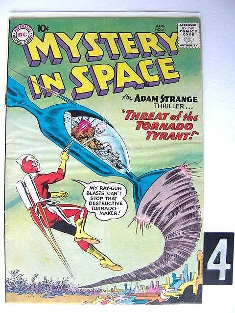 4: Estate Comic:  Mystery in Space 61