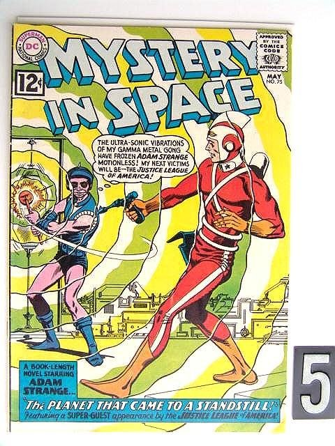 5: Estate Comic:  Mystery in Space 75