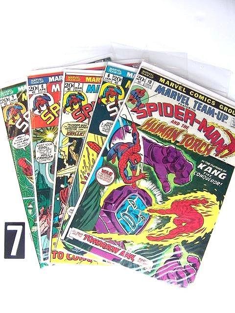 7: Estate Comic:  Marvel TeamUp 6, 7, 8,  9, 10