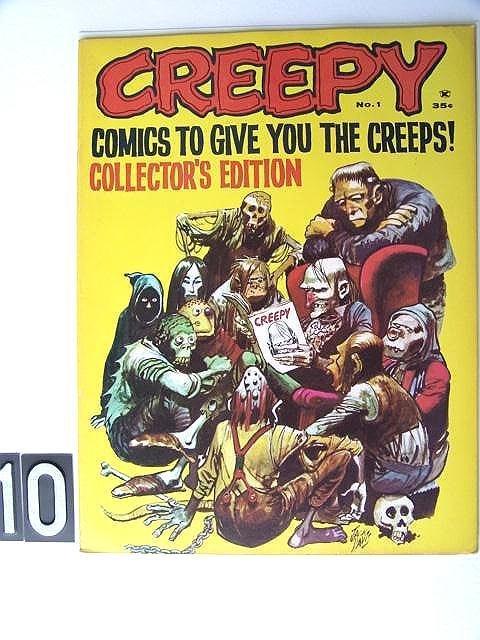 10: Estate Comic:  Creepy 1