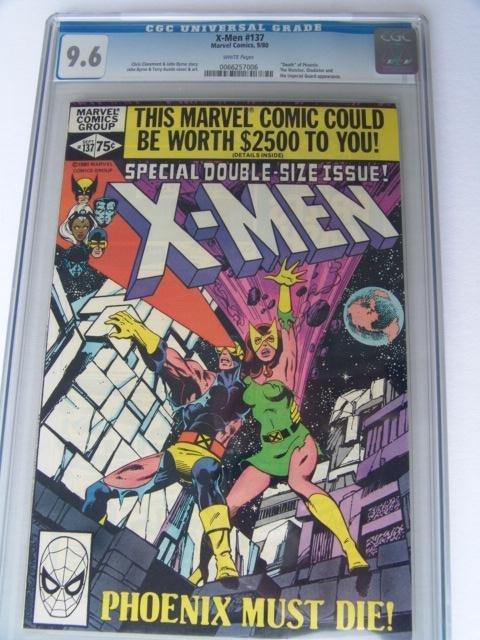 12: Estate Comic:  XMen 137 (9.6 CGC)