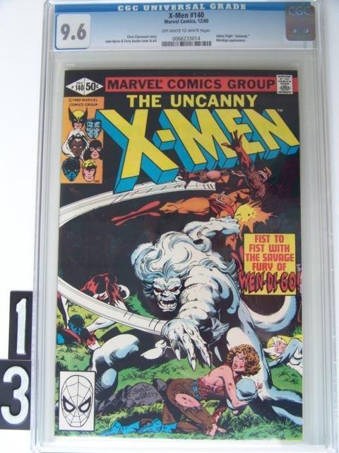 13: Estate Comic:  XMen 140 (9.6 CGC)