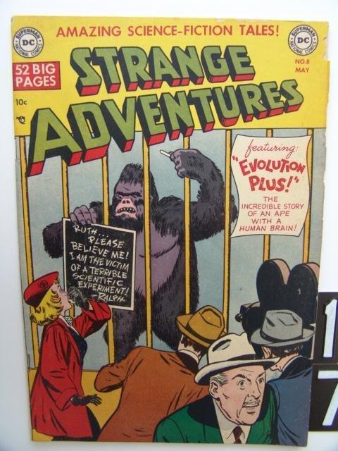 17: Estate Comic:  Strange Adventures 8