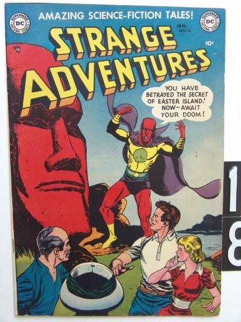 18: Estate Comic:  Strange Adventures 16
