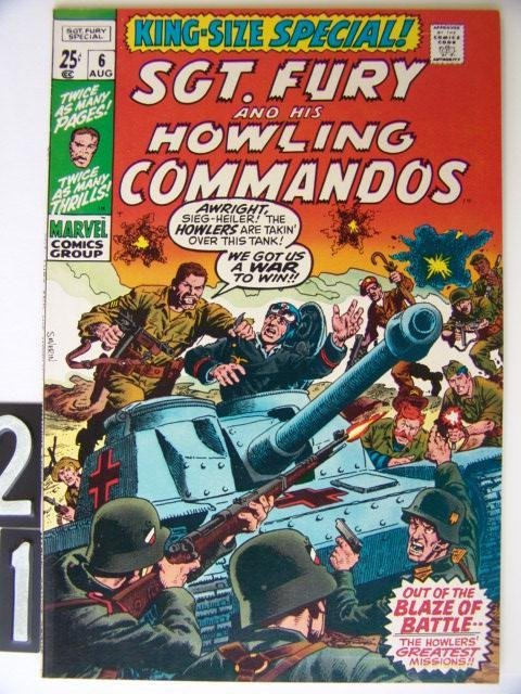21: Estate Comic:  Sgt. Fury Annual 6 (9.0)
