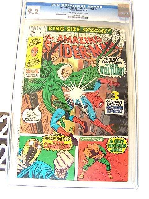 22: Estate Comic:  SpiderMan Annual 7 (9.2 CGC)