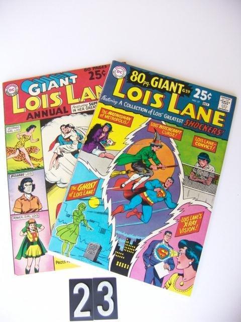 23: Estate Comic:  Lois Lane 77, Annual 1