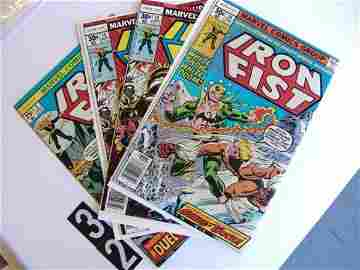 32: Estate Comic:  Iron Fist 1, 14, 15, 15