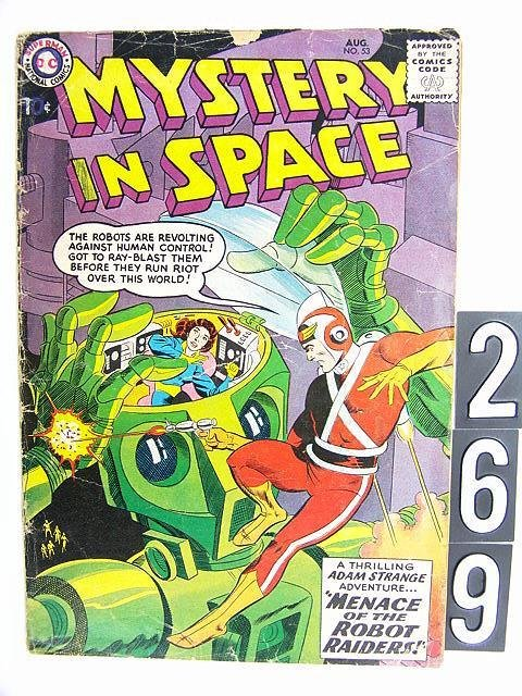 269: Estate Comic: Mystery in Space 53