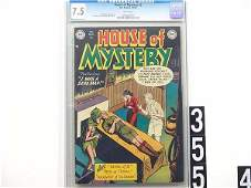 355: Estate Comic: House of Mystery 2 (7.5  CGC)
